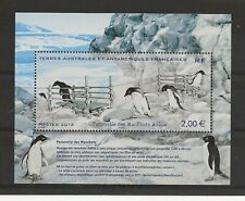 French Antarctic 2013 Manchots Adelie Penguins miniature sheet sg.MS681 MNH