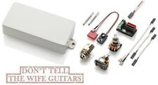 Emg 60-8H White 8 String Active Humbucker Mount Version Guitar Pickup & Pots