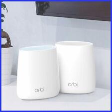 [No Tax]  Netgear Orbi Mini 2-Pack AC2200 Tri-Band WiFi System