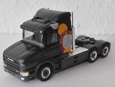 Scania t164 - 480 v8 hauber antracita metalizado ΑΙΑ 2002 3-alineación sattelzugmschine