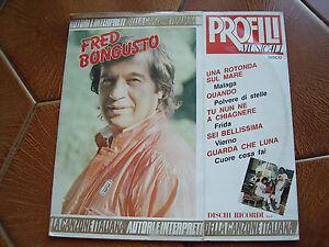 lp vinile 33 giri Fred Bongusto Profili Musicali