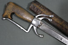 Moroccan nimcha sword with Passau wolf mark and beautiful handle - 18th 19th