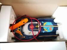 Vintage B/O Reel Toys Nasa Police Base 2 future car plastic/tin MIB 1978