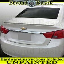 2014 2015 2016 2017 Chevy IMPALA OEM Factory Style Lip Spoiler Wing UNPAINTED
