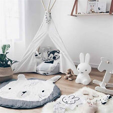 Large Rabbit Playing Crawl Gym Rug Mat Newborn Baby Kids Shower Gift Blanket GN