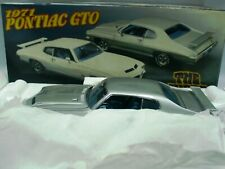 WOW EXTREMELY RARE Pontiac GTO The Judge 1971 Nordic Silver LE350 pcs 1:24 GMP