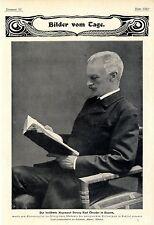 Der berühmte Augenarzt Herzog Karl Theodor in Bayern * Bilddokument 1901