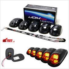 Marcador De Techo De Cabina ámbar impermeable que ejecutan las lámparas con LED Bombillas De Luz Para Camión 4x4