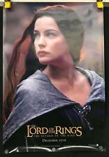 """Lord Of The Rings Return Of The King 26.75"""" x 39.75"""" VG Arwen Poster"""