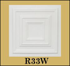 Decorative Texture Ceiling Tiles Glue Up Lot of 88 pcs- R33W On Sale (232.32s/f)