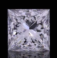 2.8mm SI CLARITY PRINCESS-FACET NATURAL AFRICAN DIAMOND (G-I COLOUR)