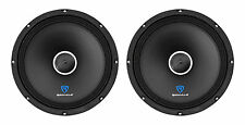 "(2) Rockville RXM104 10"" 1200w 4-Ohm SPL Car Midrange Mid-Bass Speakers w/Bullet"