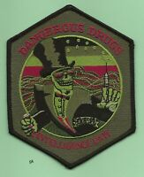 DEA DANGEROUS DRUGS INTELLIGENCE POLICE SHOULDER PATCH SUBDUED GREEN