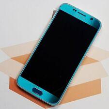 SAMSUNG GALAXY S6 - SM-G920F - 32GB - BLAU - BLUE TOPAZ - HÄNDLER - WIE NEU