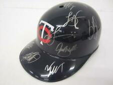 2019 Minnesota Twins Team Signed Autographed Full Size Souvenir Helmet
