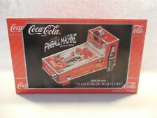 1998 Enesco Coca-Cola Pinball Machine Musical Bank MIB
