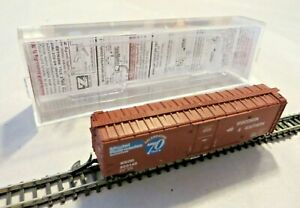 Micro-Trains Z Covered Goods Wagon Wisconsin & Southern 70 Years IN Evp