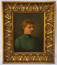 Altmeister Ölgemälde Portrait Frau Gräfin Baronesse Dame