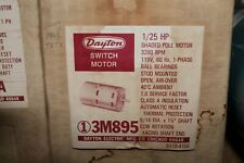 Dayton 3M895 Electric Motor 1/25HP 3200RPM 115V CCWSE