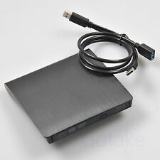 USB3.0 External Blu ray Combo BD 3D Player DVD CD Burner + Splitter Power Cable