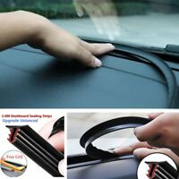 1.6m Auto Anti- Noise Car Sealing Strips Dashboard Trim Windshield Edges