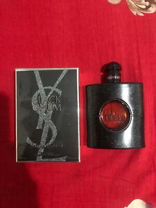 Black Opium Yves Saint Laurent 3 oz EDP Women's Perfume Spray new