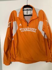 Adidas Scorch Clima Proof Men M Tennessee Volunteer 1/2 Zip Wind Pullover Jacket