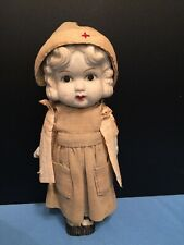 collectable vintage nurse doll military/medic hospital