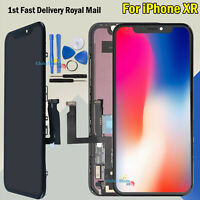 Replacement Black Digitizer For Apple iPhone XR LCD Touch Screen Display Frame