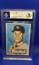 1952 Topps Style Aaron Judge Limited Edition Sketch Card ☆BECKETT☆ SUPER RARE