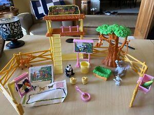 Mattel, 2000- Barbie: Kelly Petting Zoo Playset