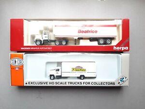 Herpa amerikanische Trucks GMC & International / Lkw / 1:87