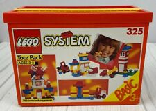 1992 Lego System Tote Pack - COMPLETE - 102 Pieces