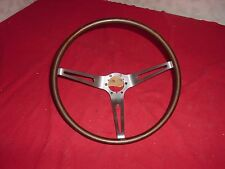 1964 65 66 CHEVROLET CORVETTE ORIGINAL GM WOOD STEERING WHEEL NCRS SURVIVOR!!