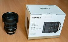Tamron SP 24-70mm F/2.8 Di VC USD G2 Zoom Lens for Canon