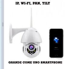TELECAMERA WIFI IP DA ESTERNO MOTORIZZATA 1080P 2MPX - VISIBILE DA SMARTPHONE AN