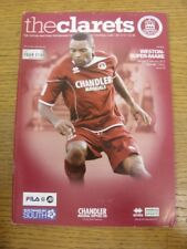 04/02/2012 Chelmsford City v Weston Super Mare  . Any faults with this item shou