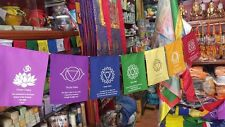 Chakra New Design Prayer Flags from the Land of Buddha