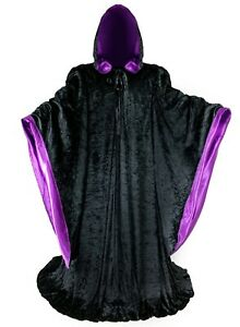 Long Costume Robe // Hood & Sleeves // Cosplay Cloak // LOTR GOT Harry Potter
