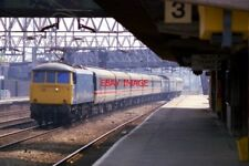 PHOTO  CLASS 81 ELECTRIC  81017 AT STAFFORD ON 28/04/87.