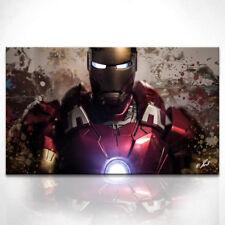 Iron Man Marvel Fantasy Bild Leinwand Abstrakte Kunst Bilder Wandbilder D0793