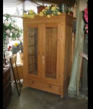 VINTAGE EUROPEAN PINE BREAKDOWN WARDROBE