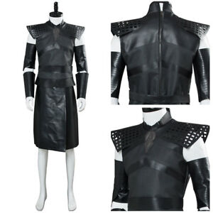Game of Thrones S7 Night's King Cosplay White Walker Suit Halloween Costume
