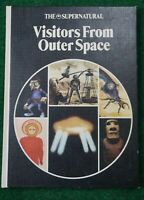 vintage 70's danbury supernatural Occult Books Visitors From Outer Space (u.f.o)