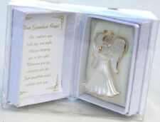 Your Guardian Angel Crystal Glass Memory Keepsake Ornament