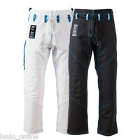 Tatami Zero G V3 BJJ Pants Mens Brazilian Jiu Jitsu Gi Trousers White & Black