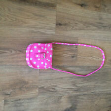 """Gorgeous   Next Pink Spotted  Bag """" No longer in store"""