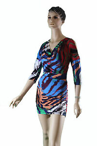 Red Blue Orange Green White Purple Evening Bodycon Cocktail Party Day Mini Dress