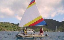 Sail kit for Intex Mariner 4 & 400 Inflatable Boat, or Sevylor Raft.