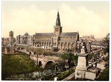 6 Cathédrale de l'Université de Glasgow George Square enochs Station Old photos photos